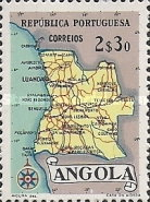 [Map of Angola, Typ DX4]