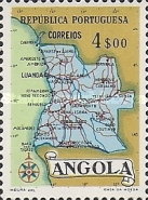 [Map of Angola, Typ DX5]