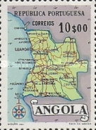 [Map of Angola, Typ DX6]
