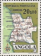 [Map of Angola, Typ DX7]