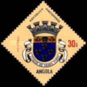 [Angolan Coat of Arms, type GN]