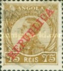 [King Manuel II of Portugal - Not Issued Stamps Overprinted