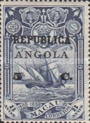 [Vasco Da Gama Issue - Postage Stamps from Macao Surcharged & Overprinted