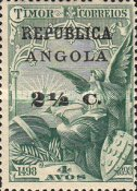 [Vasco Da Gama Issue - Postage Stamps from Timor Surcharged & Overprinted