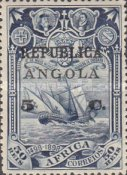 [Vasco da Gama Issue - Postage Stamps from Portuguese Africa Surcharged &  Overprinted