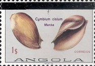 [Sea Shells Stamps of 1974 with