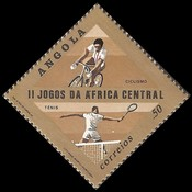 [The 2nd Anniversary of the Central African Games, Typ NS]