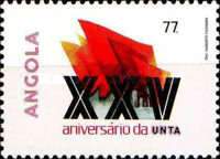 [The 25th Anniversary of the National Union of Angolan Workers, Typ QD]