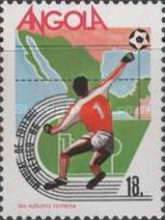 [Football World Cup - Mexico 1986, Typ RC]