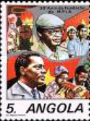 [The 30th Anniversary of Popular Movement for the Liberation of Angola, Typ RK]
