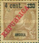 [Issues of 1911-1914 Surcharged, Typ T4]