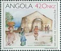 [The 500th Anniversary of the Baptism of the First Angolans, Typ WN]