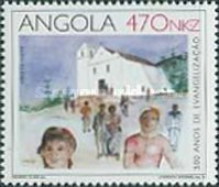 [The 500th Anniversary of the Baptism of the First Angolans, Typ WO]
