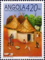 """[""""Expo '92"""" World's Fair - Seville, Southern Spain - Traditional Houses, type WT]"""