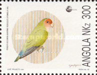 [Nature Protection - Peach-faced Lovebirds, Typ WY]