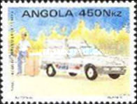 [Introduction of Express Mail Service in Angola, Typ XR]