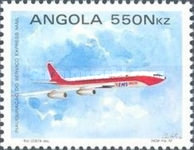 [Introduction of Express Mail Service in Angola, Typ XS]