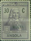 [Tax Due Stamps - Marquis of Pombal, Typ A]