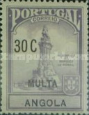 [Tax Due Stamps - Marquis of Pombal, Typ A2]