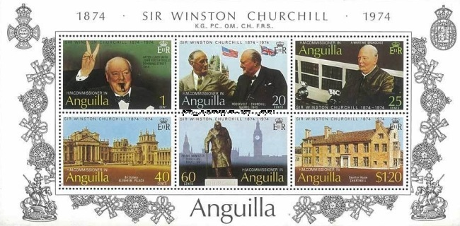 [The 100th Anniversary of the Birth of Winston Spencer Churchill, Typ ]