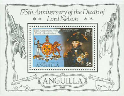 [The 175th Anniversary of the Death of Lord Nelson, Typ ]