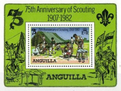 [The 75th Anniversary of the Scouting, Typ ]