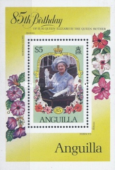 [The 85th Anniversary of the Birth of Queen Mother Elizabeth, Typ ]