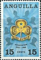 [The 35th Anniversary of the Anguilla Girl Guides Association, Typ AA]