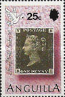 [The 150th Anniversary of the First Postage Stamp - International Stamp Exhibition STAMP WORLD LONDON '90, type AEP]