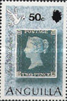 [The 150th Anniversary of the First Postage Stamp - International Stamp Exhibition STAMP WORLD LONDON '90, type AER]