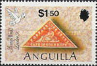[The 150th Anniversary of the First Postage Stamp - International Stamp Exhibition STAMP WORLD LONDON '90, type AES]