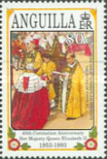 [The 40th Anniversary of the Crowning of Queen Elizabeth II, Typ AHG]