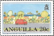 [Postal Services to Anguilla, Typ AIC]