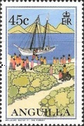 [Postal Services to Anguilla, Typ AID]