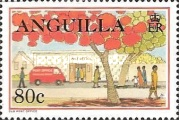 [Postal Services to Anguilla, Typ AIE]