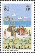 [Postal Services to Anguilla, Typ AIF]