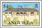 [Postal Services to Anguilla, Typ AIG]