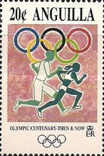 [The 100th Anniversary of the Olympic Games - Then & Now, Typ ALB]