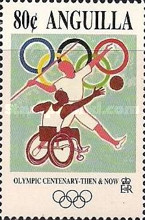 [The 100th Anniversary of the Olympic Games - Then & Now, Typ ALC]