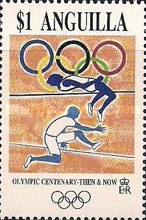 [The 100th Anniversary of the Olympic Games - Then & Now, Typ ALD]
