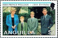 [The 18th Anniversary of the Birth of Prince William, type AOU]