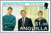 [The 18th Anniversary of the Birth of Prince William, type AOV]