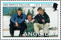 [The 18th Anniversary of the Birth of Prince William, type AOW]