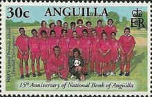 [The 15th Anniversary of the National Bank of Anguilla, type APS]