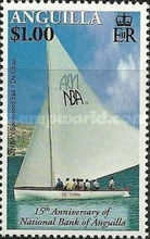 [The 15th Anniversary of the National Bank of Anguilla, type APT]