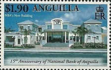 [The 15th Anniversary of the National Bank of Anguilla, type APV]