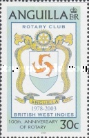 [The 100th Anniversary of the Rotary International and The 25th Anniversary of the Anguilla Rotary Club, type AVI]