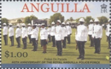 [The 40th Anniversary of the Royal Anguilla Police Force, type AXS]