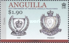[The 40th Anniversary of the Royal Anguilla Police Force, type AXU]