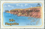 [The 75th Anniversary of the Girl Guides, type RF2]